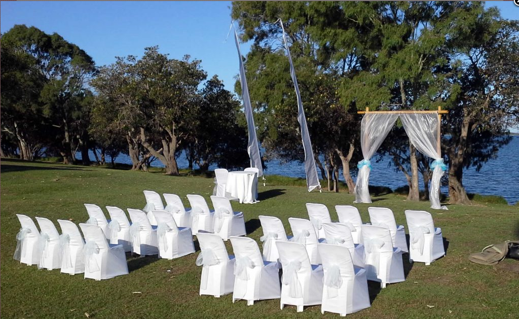 Complete wedding hire sets